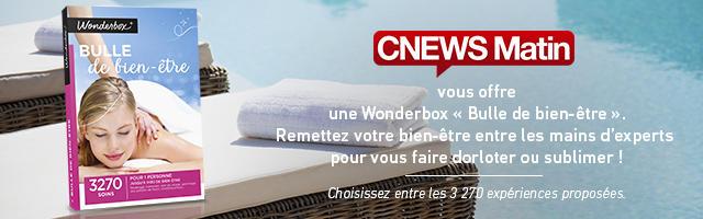 """Concours : gagnez une Wonderbox """"Bulle de bien-être"""""""