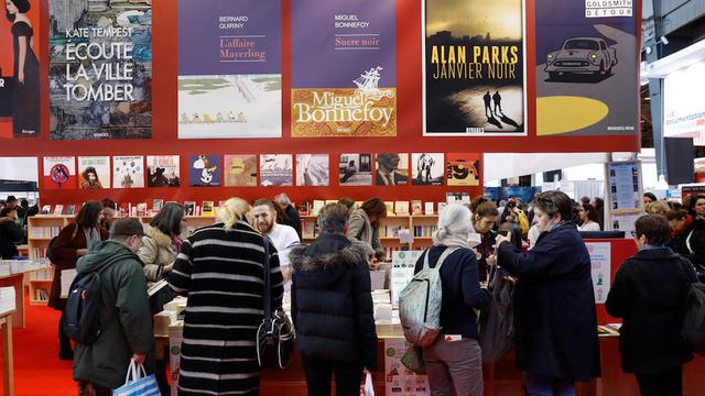 7483abd036a Le Sultanat d Oman est cette année l invité spécial de Livre Paris. ©PATRICK  KOVARIK   AFP