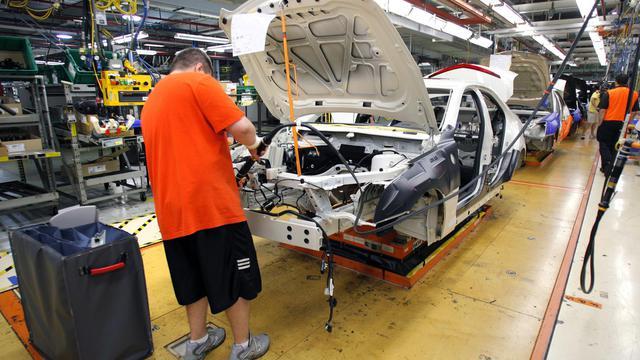 Le plus grand constructeur automobile américain, General Motors, a annoncé mardi une hausse de ses ventes de 10,1% aux Etats-Unis en août, à 240.520 unités, au-delà des attentes des analystes.[GETTY IMAGES NORTH AMERICA]