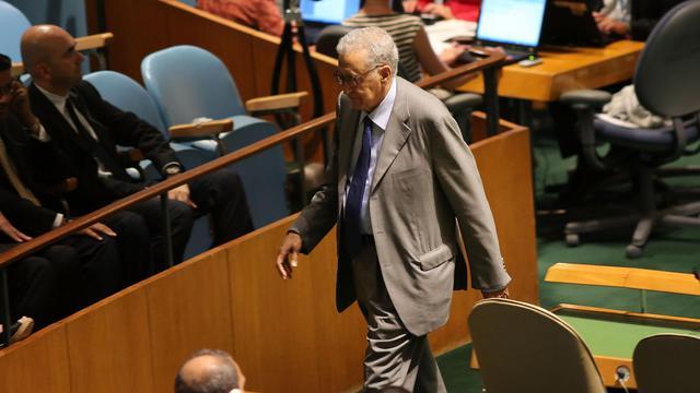 Le nouvel émissaire international pour la Syrie Lakhdar Brahimi est arrivé dimanche au Caire, première étape d'une périlleuse mission de paix après bientôt dix-huit mois de violences meurtrières ayant plongé le pays dans la guerre civile. [GETTY IMAGES NORTH AMERICA]
