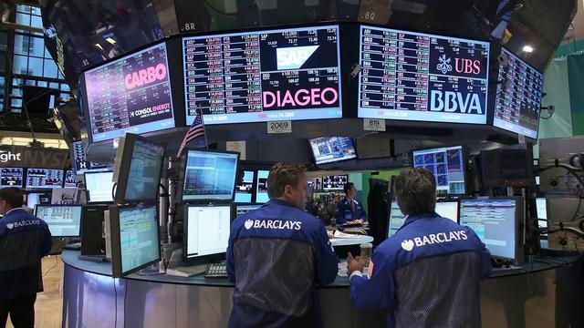 Des traders à la Bourse de New York, le 17 septembre 2012 [Spencer Platt / Getty Images/AFP]