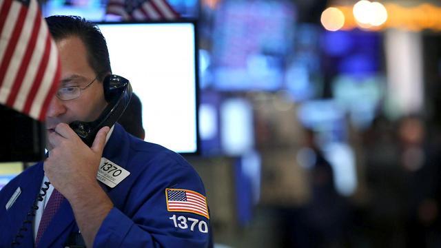 Un courtier à la bourse de New York [Spencer Platt / Getty Images/AFP/Archives]