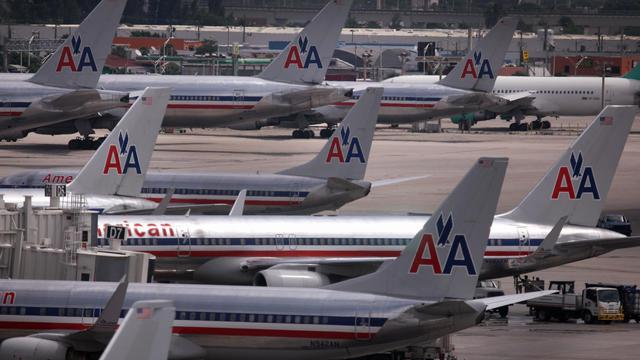Des avions de la compagnie American Airlines [Joe Raedle / Getty Images/AFP/Archives]