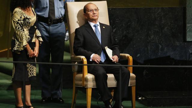 Le président birman Thein Sein à l'ONU à New York, le 27 septembre 2012 [Mario Tama / AFP/Getty Images/Archives]