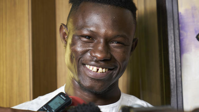 Mamoudou Gassama honoré aux Etats-Unis — BET Awards