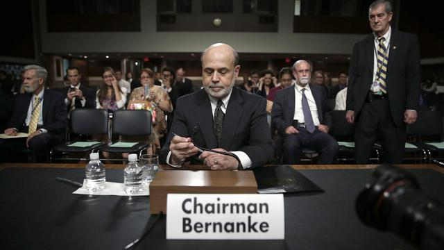Le président de la Fed, Ben Bernanke, le 22 mai 2013 à Washington DC [Alex Wong / Getty Images/AFP]
