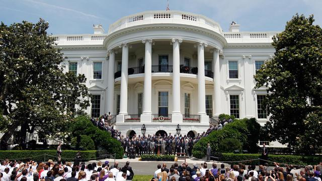 Vue de la Maison Blanche, à Washington, le 5 juin 2013 [Rob Carr / Getty Images/AFP]
