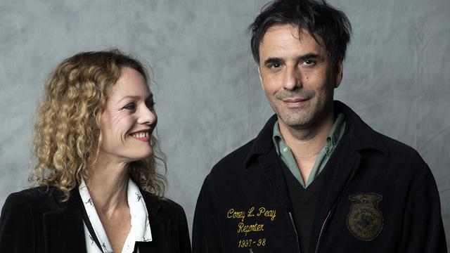 Le couple, qui avait officialisé sa relation en 2017, s\u0027était rencontré sur  le tournage du film «Chien»[VALERIE MACON / AFP]