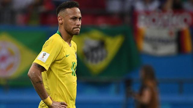 Neymar et le Brésil éliminés en quart de finale du Mondial en Russie
