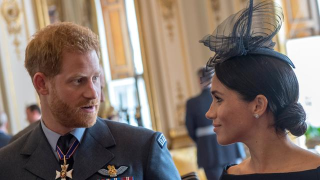 Le prince Harry et son épouse Meghan Markle
