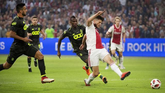 Opposés en Ligue des Champions en août 2018, l'Ajax Amsterdam et le Standard de Liège pourraient bientôt se retrouver dans le même championnat.