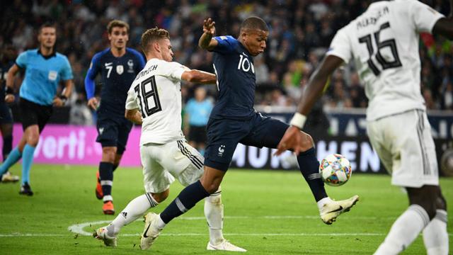 Kylian Mbappé et les Bleus ont obtenu un bon nul en Allemagne.