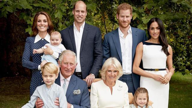 La famille royale britannique autour du prince Charles