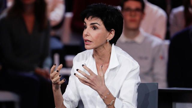 Rachida Dati est candidate à l'investiture LR pour les municipales à Paris.