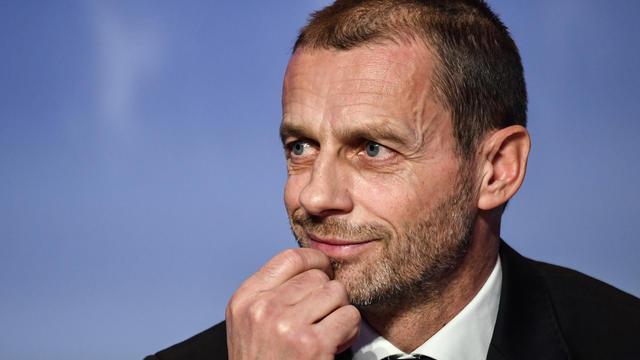 Aleksander Ceferin, le président de l'instance européenne, a assuré qu'aucune décision n'a été prise.