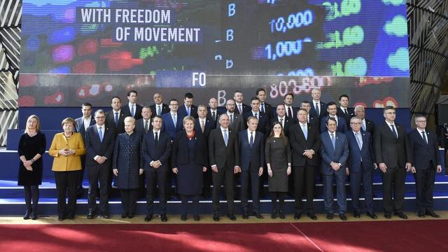 Les dirigeants des 28 Etats de l'UE, ainsi que les présidents du Conseil européen Donald Tusk et de la Commission Jean-Claude Juncker, se retrouveront à Bruxelles pour parler notamment Brexit et Syrie.