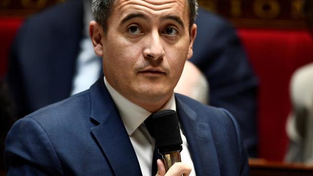 Gérald Darmanin à l'Assemblée Nationale.