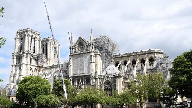 La Fondation du patrimoine a arrêté sa collecte pour Notre-Dame la semaine dernière, avec 218 millions d'euros de dons.