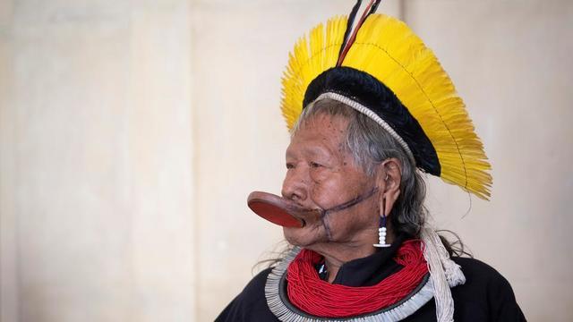 Le légendaire chef indigène brésilien Raoni sera présent à la 18e marche des jeunes pour le climat à Bruxelles ce vendredi 17 mai.