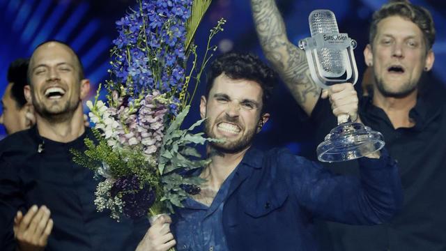 Les Pays-Bas, qui ont gagné la compétition, sont cinquième au vote du public français
