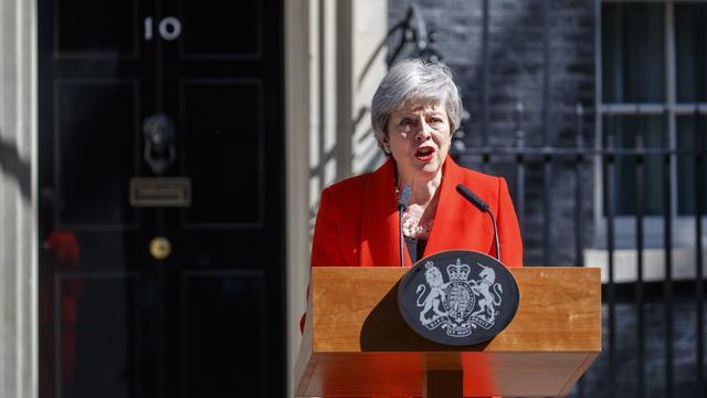 Theresa May sera restée près de trois ans au 10 Downing Street.