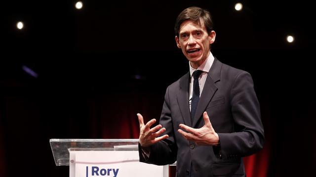 Rory Stewart, ministre du Développement international et prétendant à la succession de Theresa May, a lancé sa campagne mardi 11 juin à Londres.