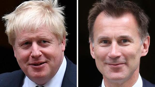 Boris Johnson et Jeremy Hunt sont les deux derniers candidats encore en lice pour la succession de la Première ministre britannique Theresa May.