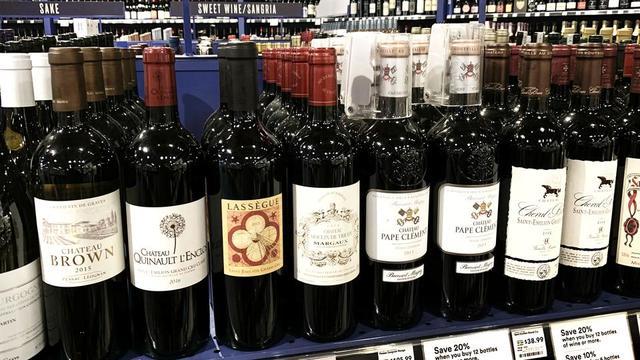 Le vin français est notamment visé par ces sanctions douanières américaines.