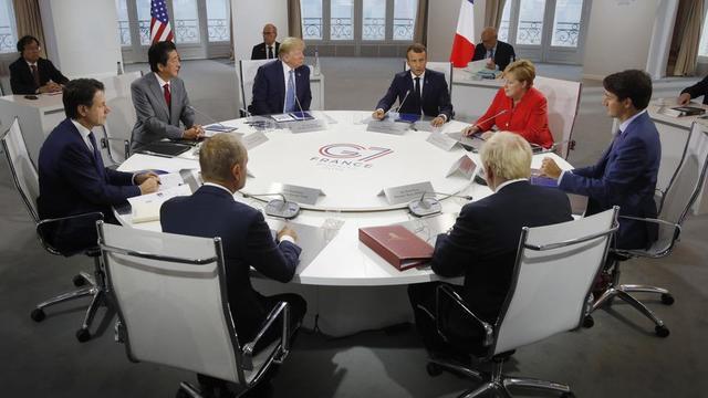 Giuseppe Conte, Shinzo Abe, Donald Tusk, Donald Trump, Emmanuel Macron, Boris Johnson, Angela Merkel et Justin Trudeau étaient réunis de samedi à lundi à Biarritz pour le 45e sommet du G7.
