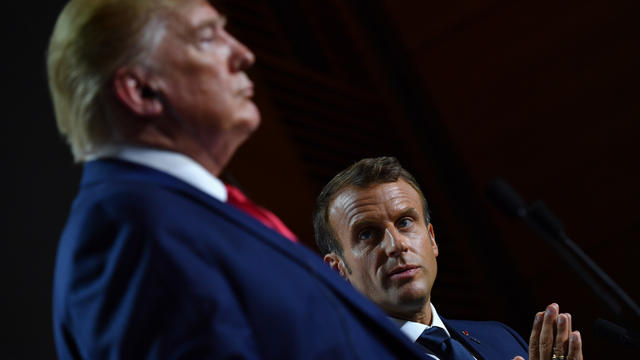 Donald Trump, l'une des personnalités difficiles à appréhender pour Emmanuel Macron