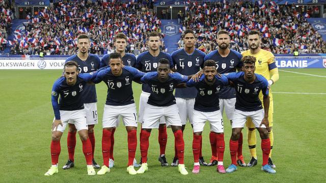 Le calendrier de l'équipe de France 2012 et 2013