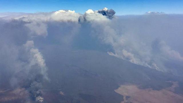 Le pouvoir a rejeté la responsabilité des incendies sur la sécheresse.