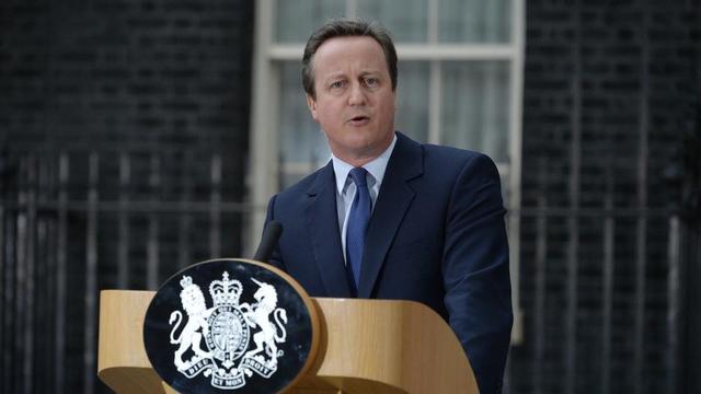 David Cameron a été Premier ministre du Royaume-Uni de 2010 à 2016, et a démissionné après le résultat du référendum sur le Brexit, en juin 2016.