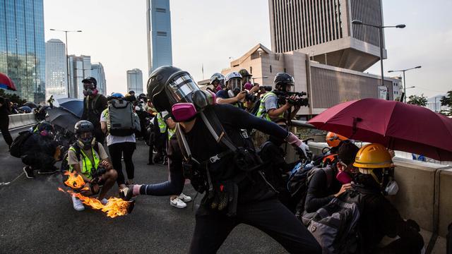 Les cocktails molotov, arme favorite des manifestants les plus radicaux.