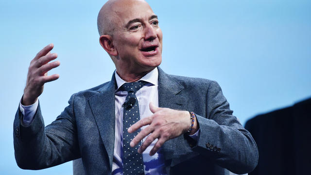 Jeff Bezos, patron d'Amazon.