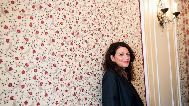 Après avoir reçu le Prix Interallié la veille, Karine Tuil a remporté le Prix Goncourt des lycéens 2019 pour «Les choses humaines» (Gallimard)
