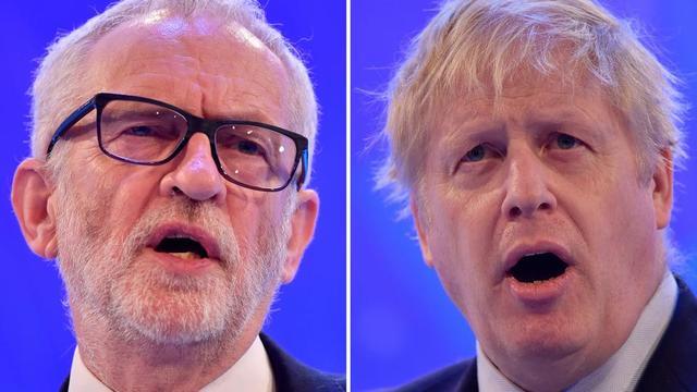Le leader travailliste Jeremy Corbyn et le Premier ministre conservateur Boris Johnson ont multiplié les piques ces dernières semaines.