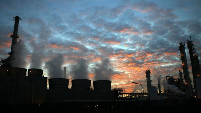 Une raffinerie à Los Angeles, en Californie [David Mcnew / Getty Images/AFP/Archives]
