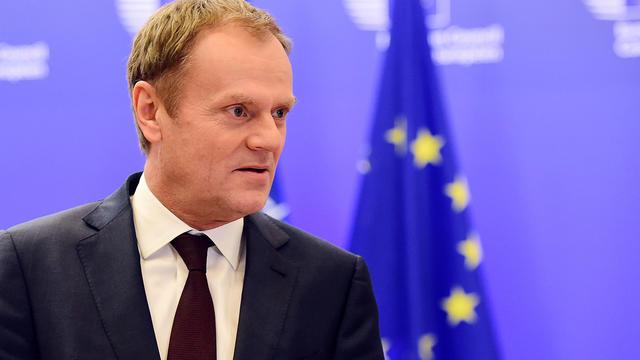 Le président du conseil Européen, Donald Tusk, le 2 février 2016 à Bruxelles.