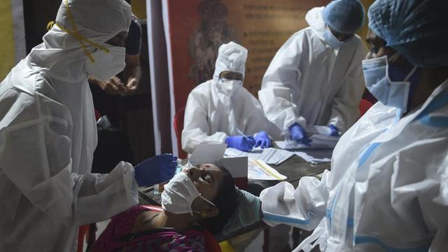 Sur la dernière semaine, l'Inde est le pays ayant enregistré le plus de nouvelles contaminations.