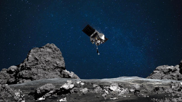 La sonde Osiris-Rex s'est posée sur l'astéroïde Bennu.