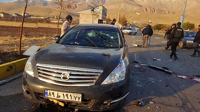 La voiture du physicien a été attaqué en Iran ce 27 novembre