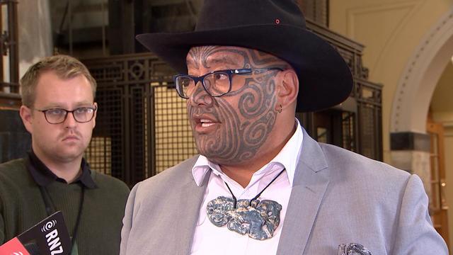 Rawiri Waititi, l'un des élus du Parti māori et porteur du projet