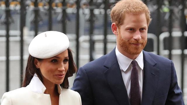 Meghan Markle et le prince Harry se sont mis en retrait de la famille royale début 2020.