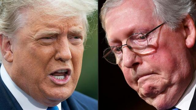 Pour Trump, Mitch McConnell n'est qu'un crétin de fils de pute
