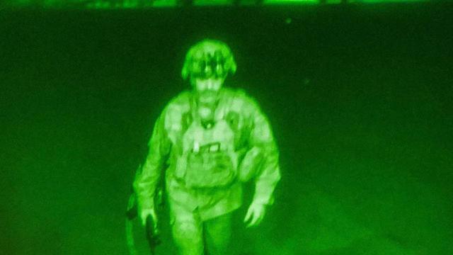 Chris Donahue restera dans l'histoire comme étant le dernier soldat à évacuer l'Afghanistan