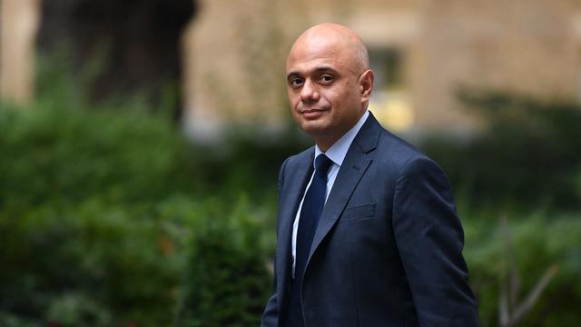Le ministre de la Santé britannique, Sajid Javid, a annoncé l'abandon du passeport vaccinal.