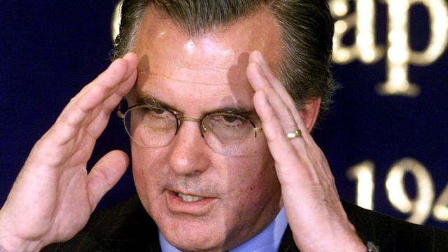 Richard Fisher. président de l'antenne de la Fed à Dallas, au Texas, le 21 mars 2000 à Tokyo [Kazuhiro Nogi / AFP/Archives]