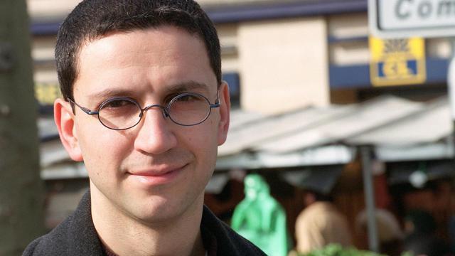 Christophe Najdovski le 12 mars 2001 à Paris [Martin Bureau / AFP/Archives]