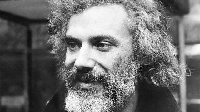 Photo prise le 23 novembre 1972 du chanteur Georges Moustaki [ / Belga/AFP]